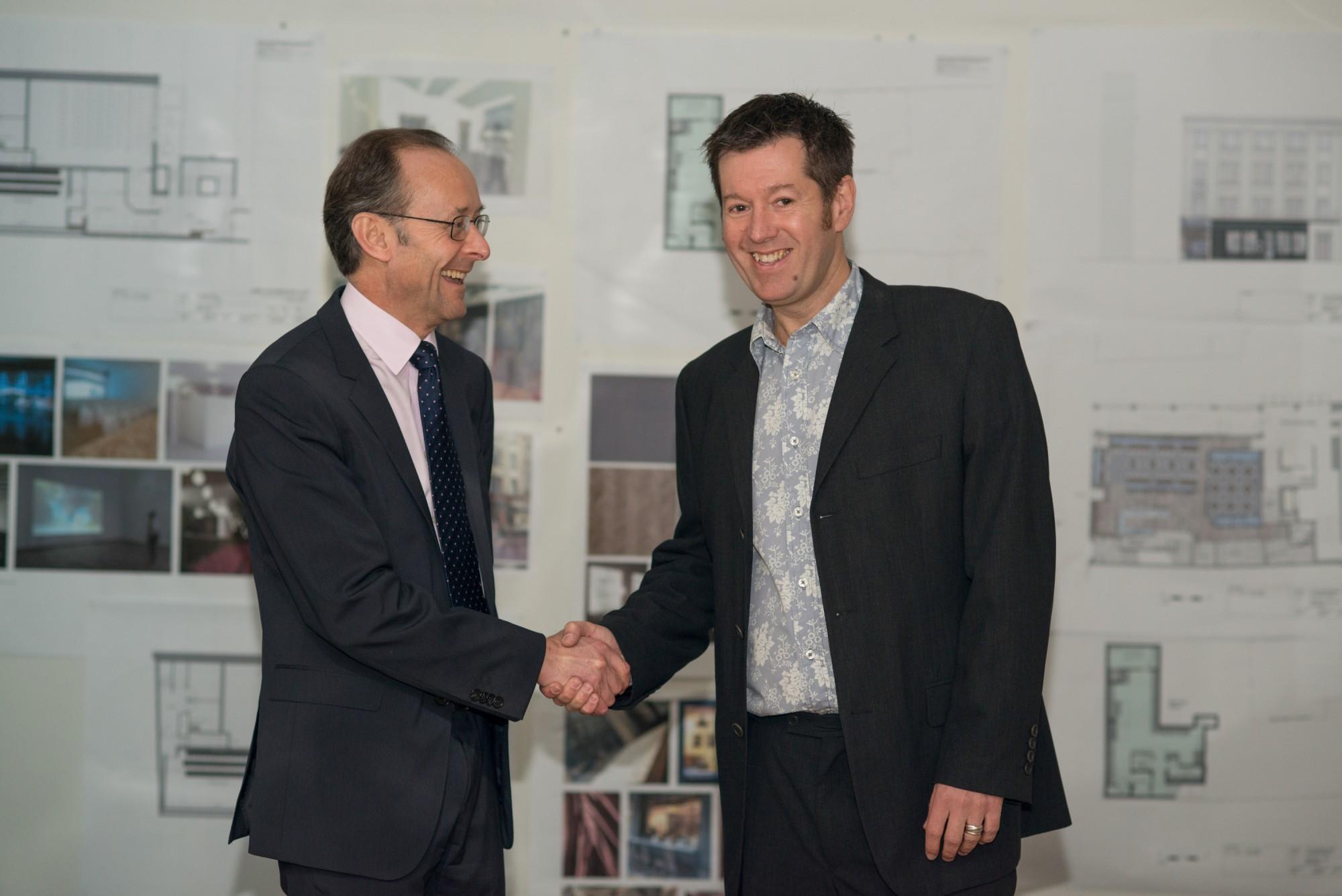 Tyneside Cinema Mark Dobson and Hugh Welch Oct 2013
