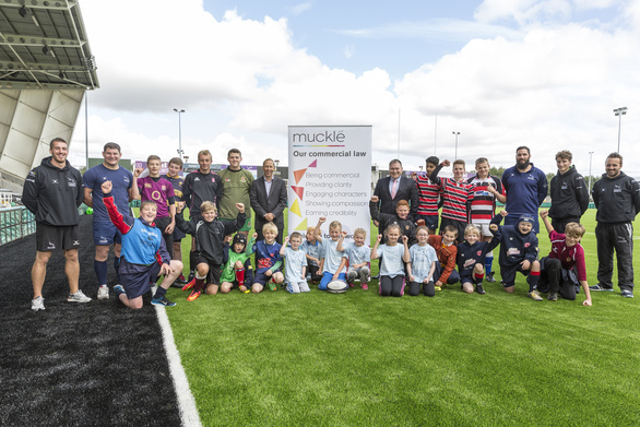 Falcons-Community Foundation launch with Muckle-LLP