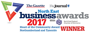 Northumberland and Tyneside Heart of the Community Winners