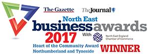 Northumberland and Tyneside Heart of the Community Winners