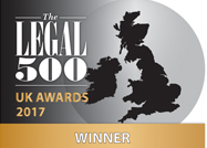 Legal 500 UK Awards 2016 Winners