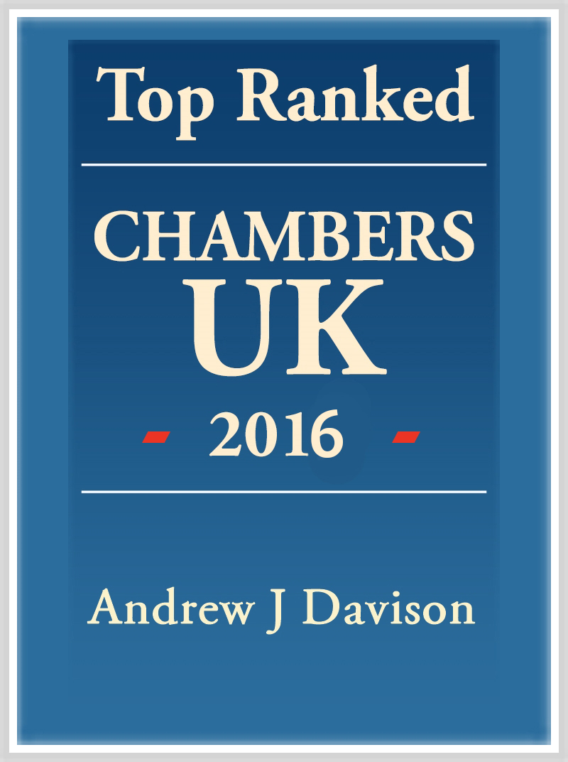Andrew Davison Top Ranked 2016 logo