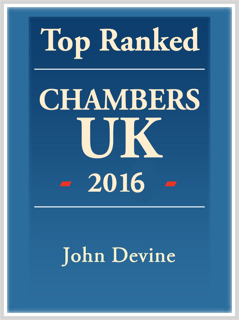 John Devine Top Ranked 2016 Logo
