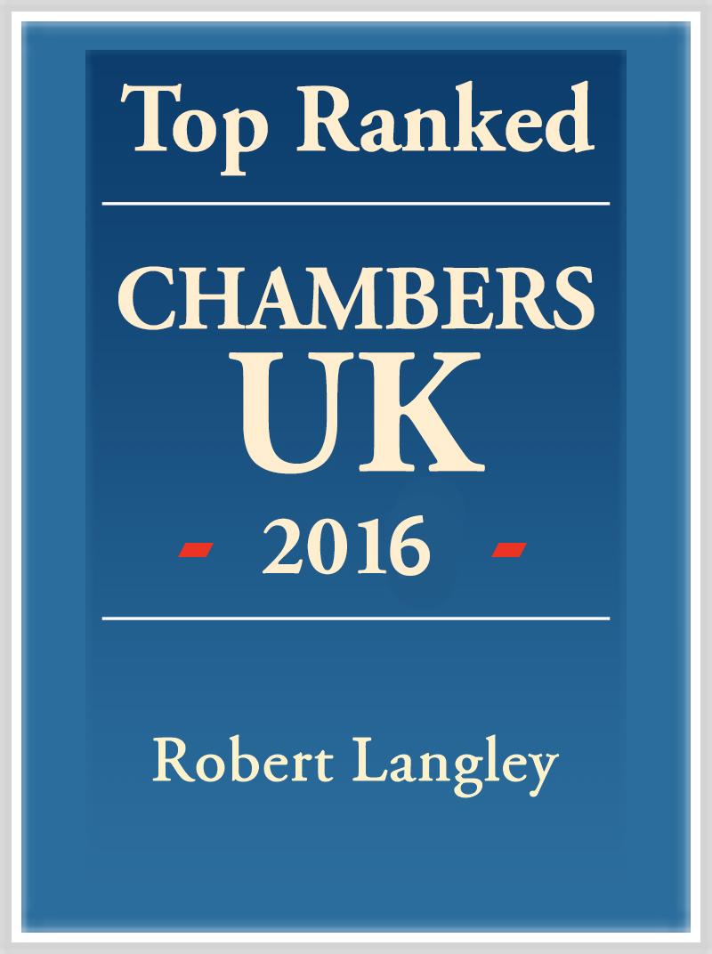 Robert Langley Top Ranked 2016 Logo