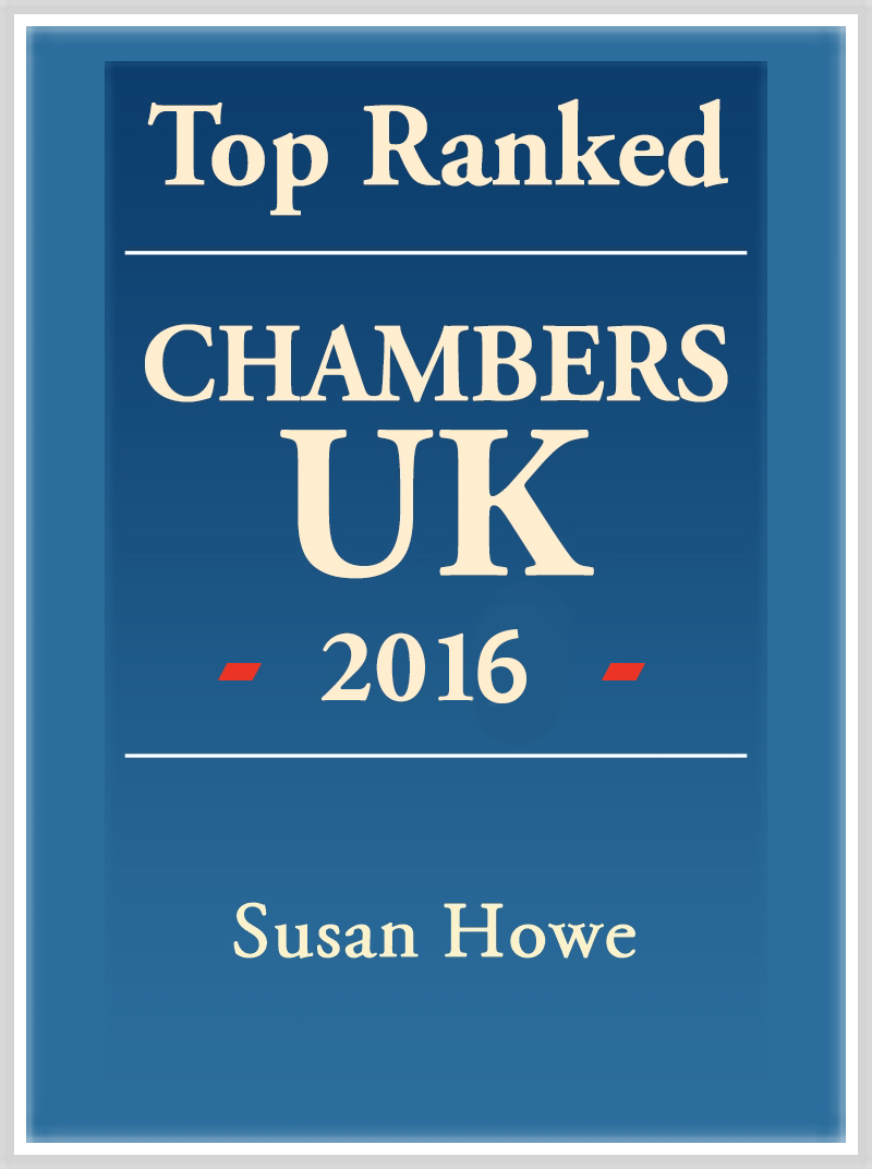 Susan Howe Top Ranked 2016 Logo