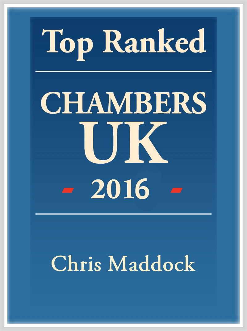 Chris Maddock Top Ranked 2016 logo