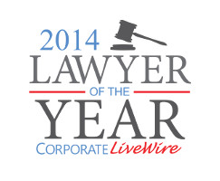 Corporate Livewire 2014 lawyer of the year