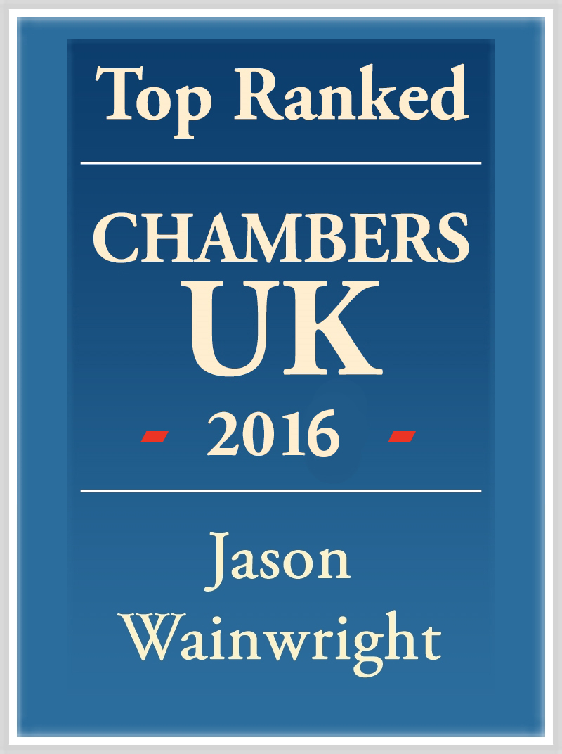 Jason Wainwright Top Ranked 2016 logo