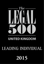 Legal 500 Leading Individual 2015