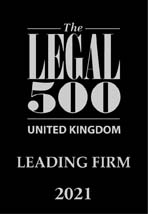 1. The Legal 500 UK – Leading Firm