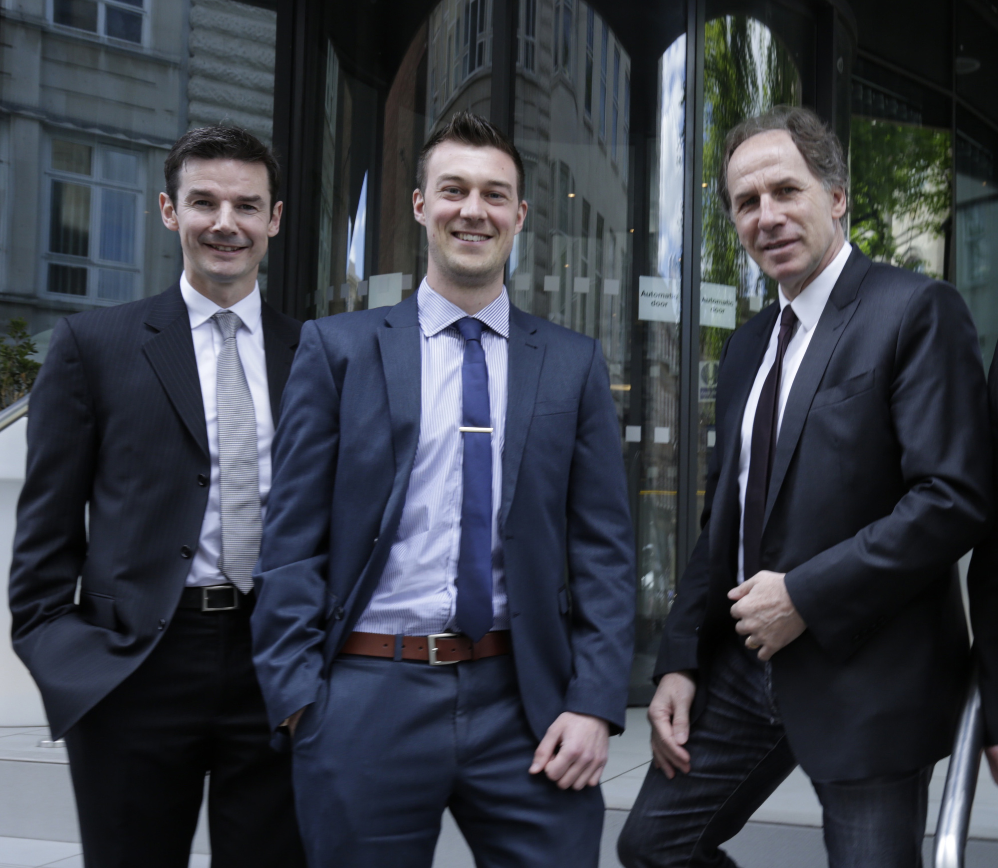 John Devine, Anthony Coultas and Franco Baresi