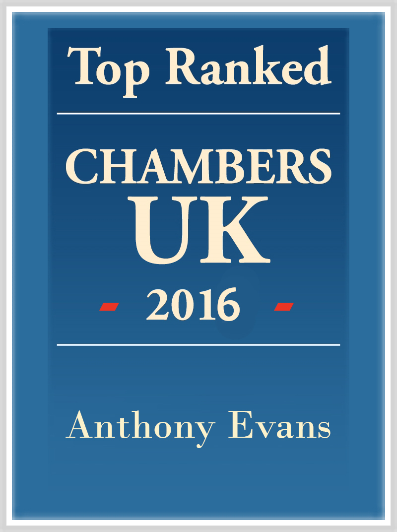 Anthony Evans Top Ranked 2016 logo