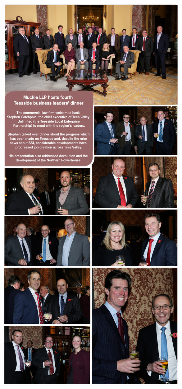 Collage of pictures from the LEP Dinner