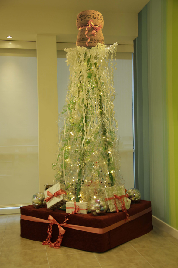 Bottle Christmas Tree 2015