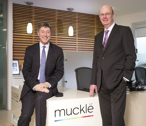 Andrew Davison (left) and Mike Spetch (right) of Muckle LLP