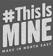 This is MINE - Made in North East logo