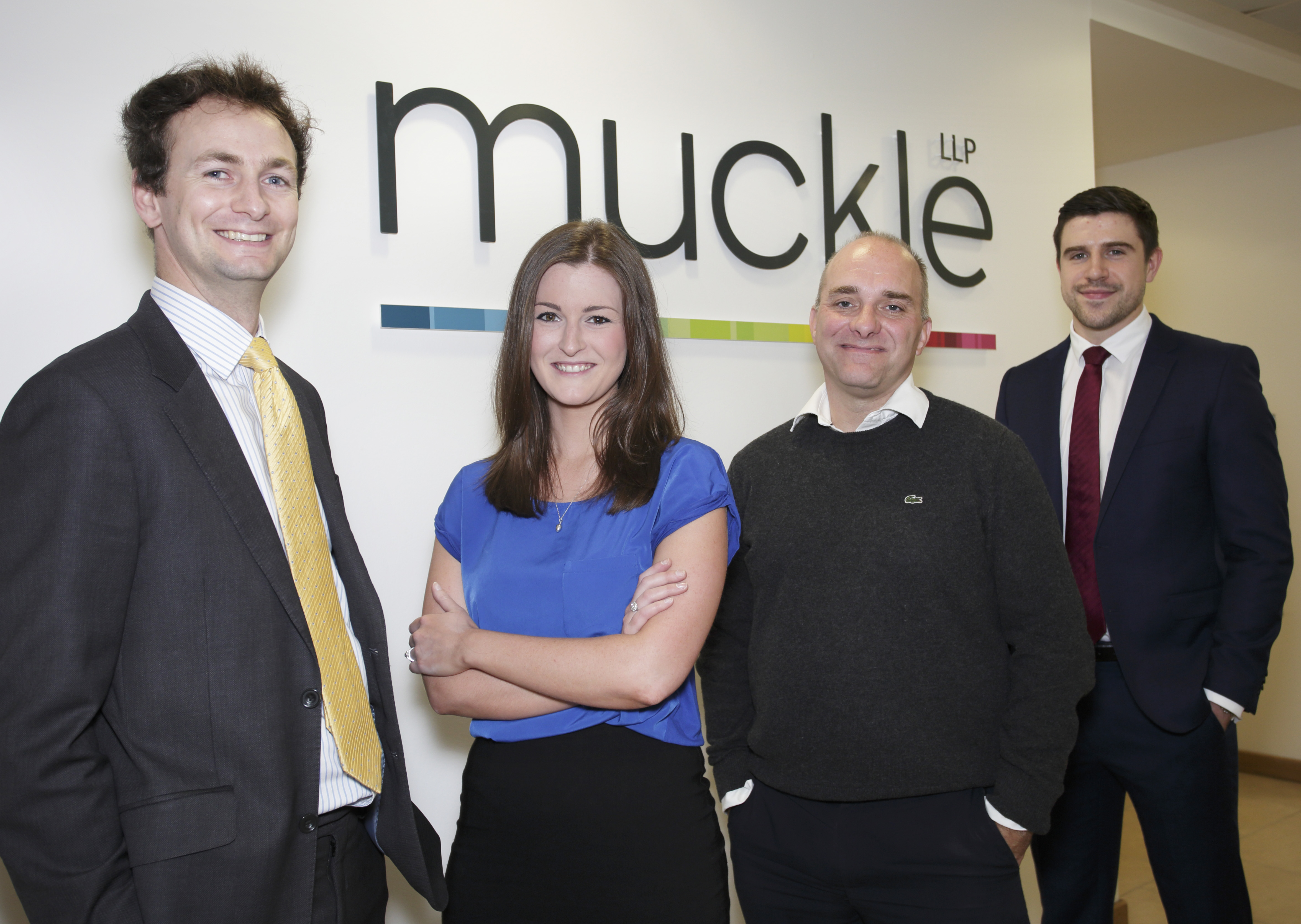 Henry, Beth, Jason and Tom from Muckle LLP