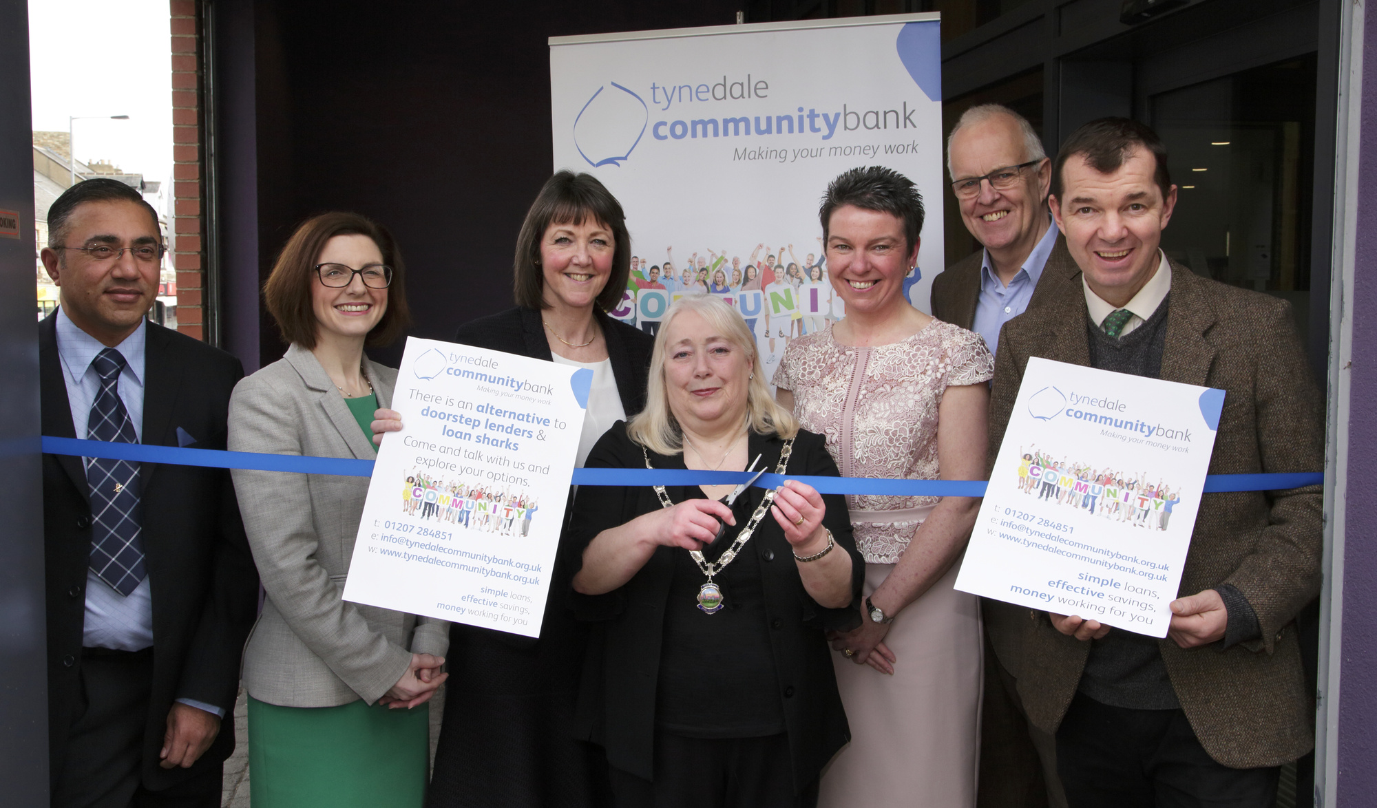 Tynedale Community Bank open day