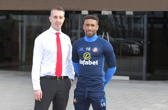 Senrab FC - Luke Donockley and Jermain Defoe