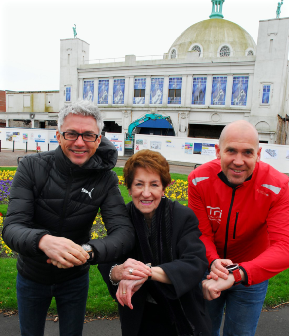 Whitley Bay Half Marathon launch