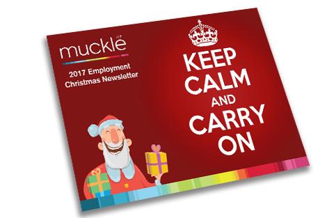 Employment Team's Christmas 2017 newsletter
