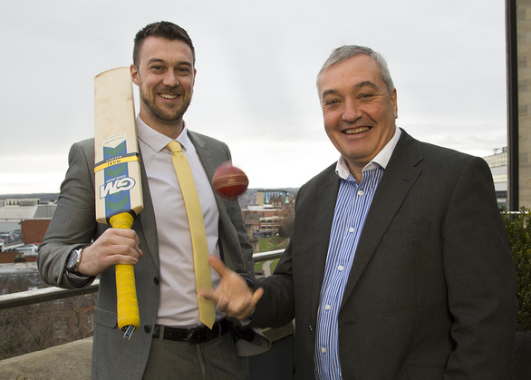 HOWZAT? : Muckle LLP lawyers Anthony Coultas and Tony McPhillips, celebrate statistics released by the Caribbean Premier League showing a greater global audience and further success for their T20 cricket tournament (CPLT20).