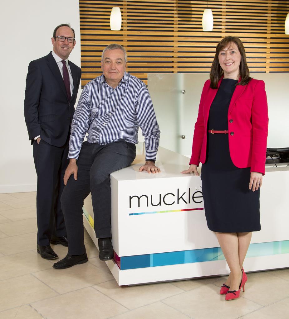 Partners Robin Adams, Tony McPhillips and Jill Donabie