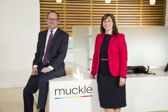 New partners, Robin Adams and Jill Donabie
