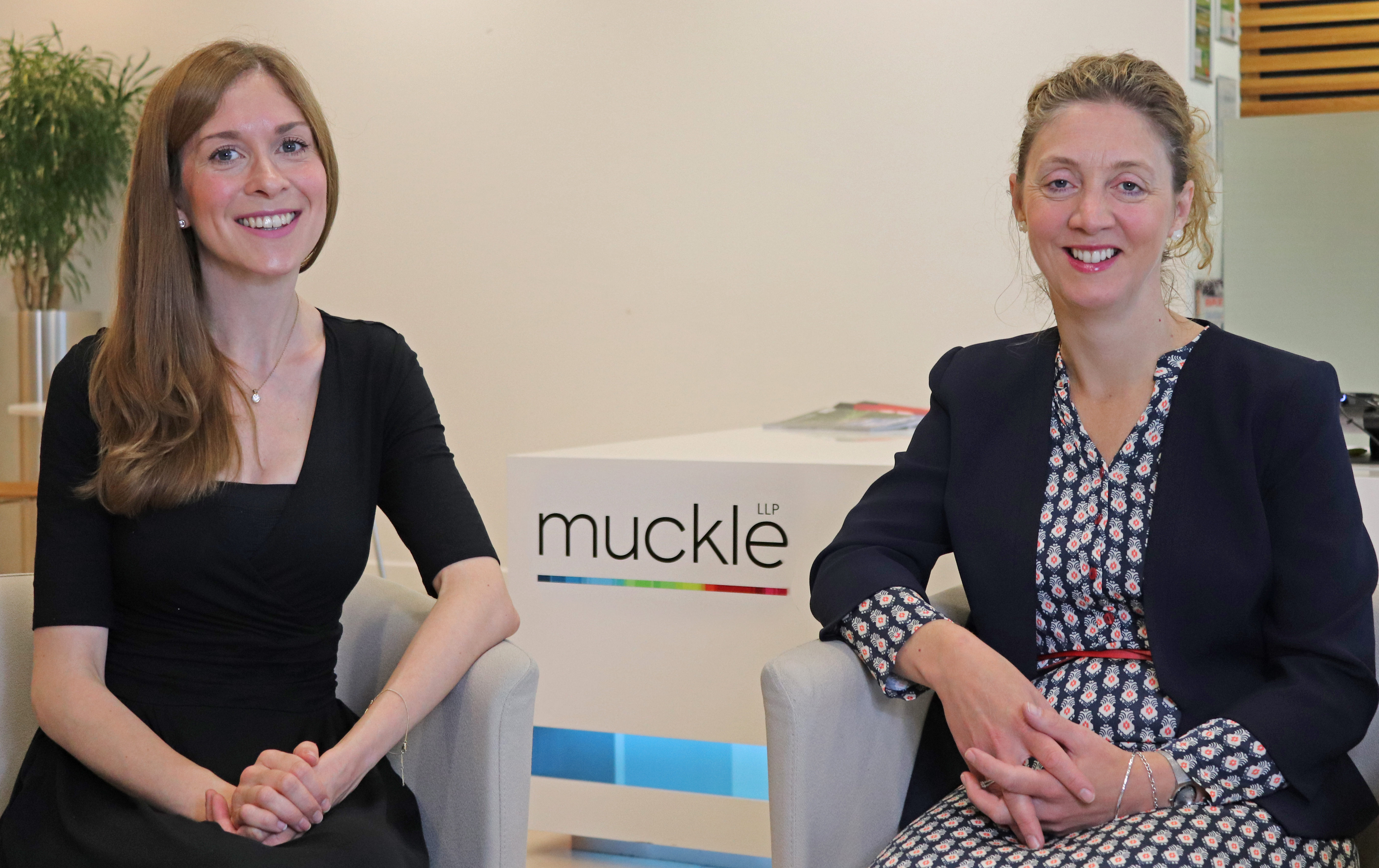 Key appointment: Jenny Wade (left) with Alex Craigth