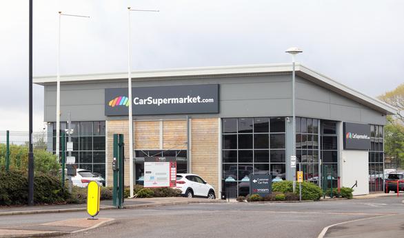 Car supermarket dealership