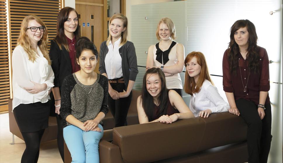Inspiring Careers Programme students 2012