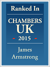 James Armstrong personalised Chambers logo