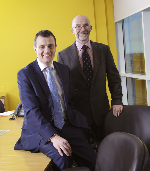 Keith Bishop and Robert Langley, construction specialists at Muckle LLP