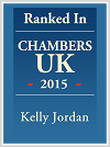 Kelly Jordan personalised Chambers logo
