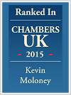 Kevin Maloney personalised Chambers logo