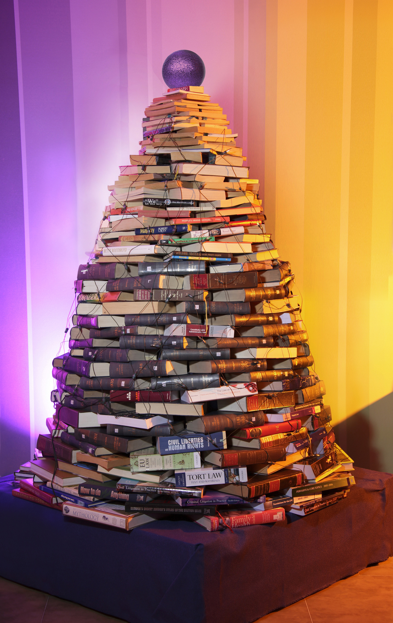 Muckle Book Christmas Tree
