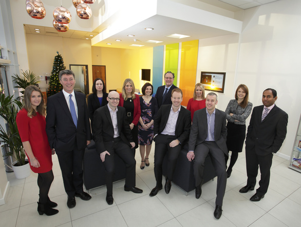 Muckle lawyers with Martin Such and Andrew Scaife (seated centrally) from Quantum Pharma plc
