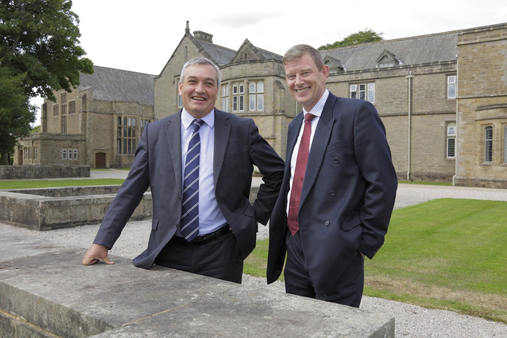 Tony McPhillips Muckle and Peter Marshall Sedbergh School