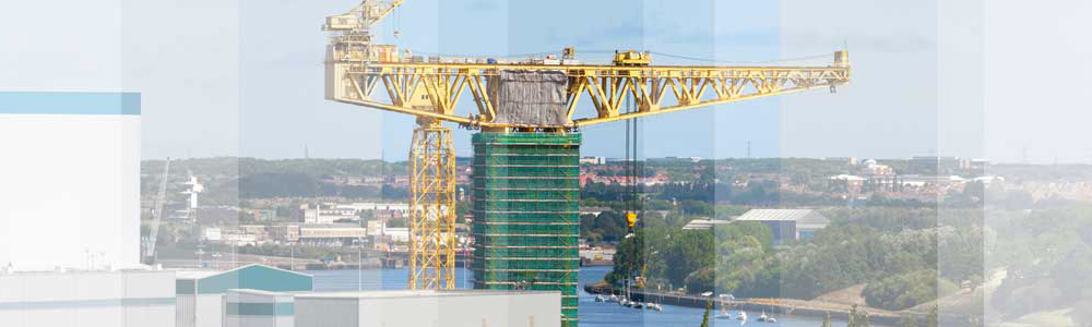 Crane over the Tyne